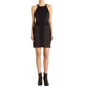 rag & bone Black paneled black dress NWOT
